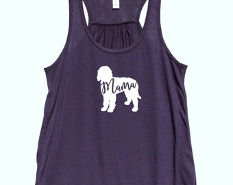 """Labradoodle  """"MAMA"""" - Fit or Flowy Tank"""