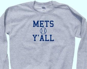 timeless design 1efcd 854bd Mets sweatshirt | Etsy
