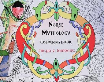 Norse Mythology Colouring Book