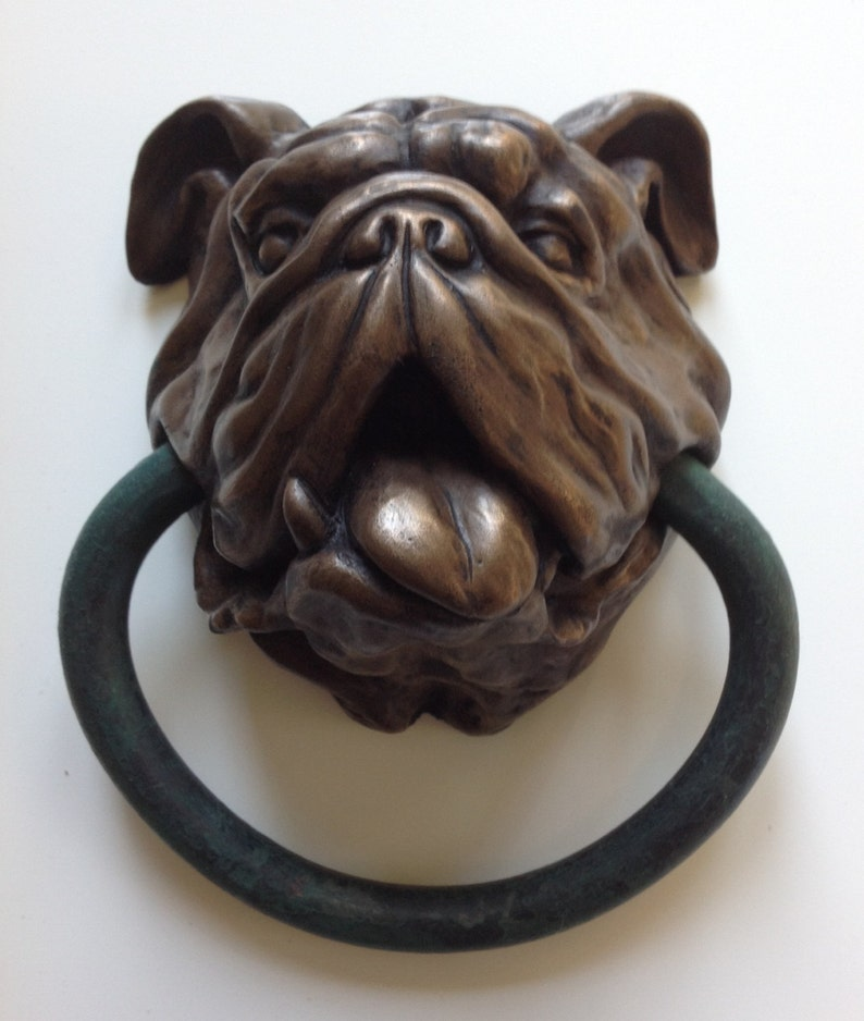 English Bulldog Doorknocker image 0