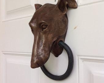 Greyhound Doorknocker