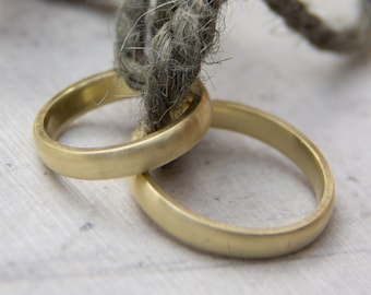 Wedding rings matt - The classics