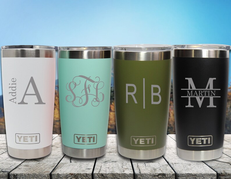 Personalized Yeti Tumbler Engraved Yeti 20oz Tumbler Engraved Yeti Rambler Authenticity Guaranteed