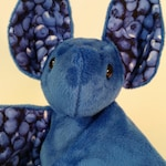 Blueberry Bat - Minky