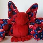 Berry Bat - Minky