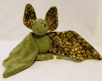 Green Grape Bat - Minky