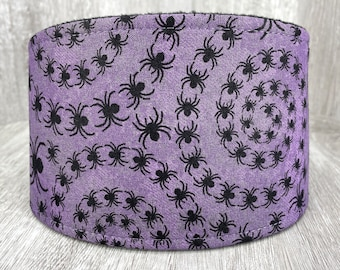 SHIPS TOMORROW - Male Dog Belly band - dog diaper - Washable and Reusable - Male dog wrap - Halloween Spider Spiral - In Stock