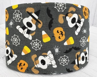 FINAL RESTOCK - Male Dog Belly band - dog diaper - Washable and Reusable - XSmall to XLarge Sizes - Halloween Dog Candy Corn - In stock