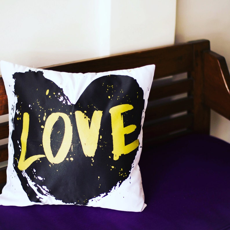 So Much Love  Decorative Pillow Case Throw Cushion Cover image 0