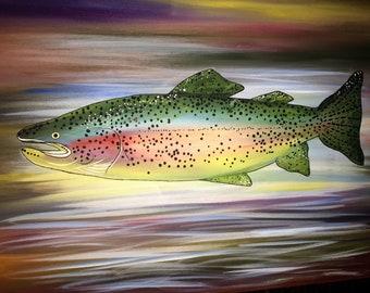 Rainbow Swimmer