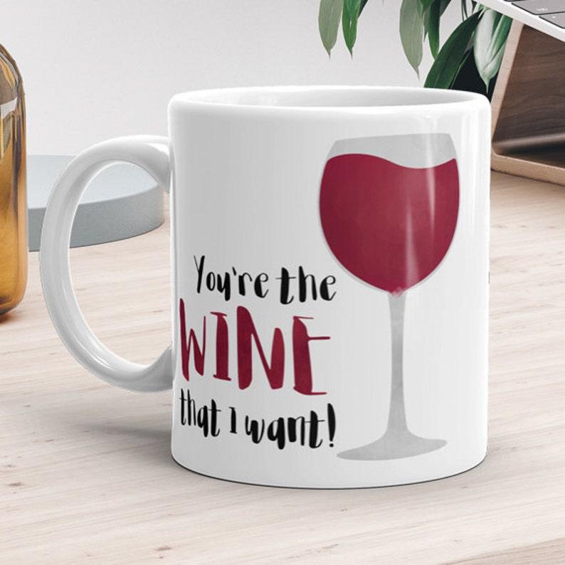 Lustige Becher 11 Unzen Oder 15 Unzen Du Bist Der Wein Die Etsy