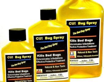 Bed Bug Spray With C U Bug Spray No More Bedbugs Cubugspray Etsy
