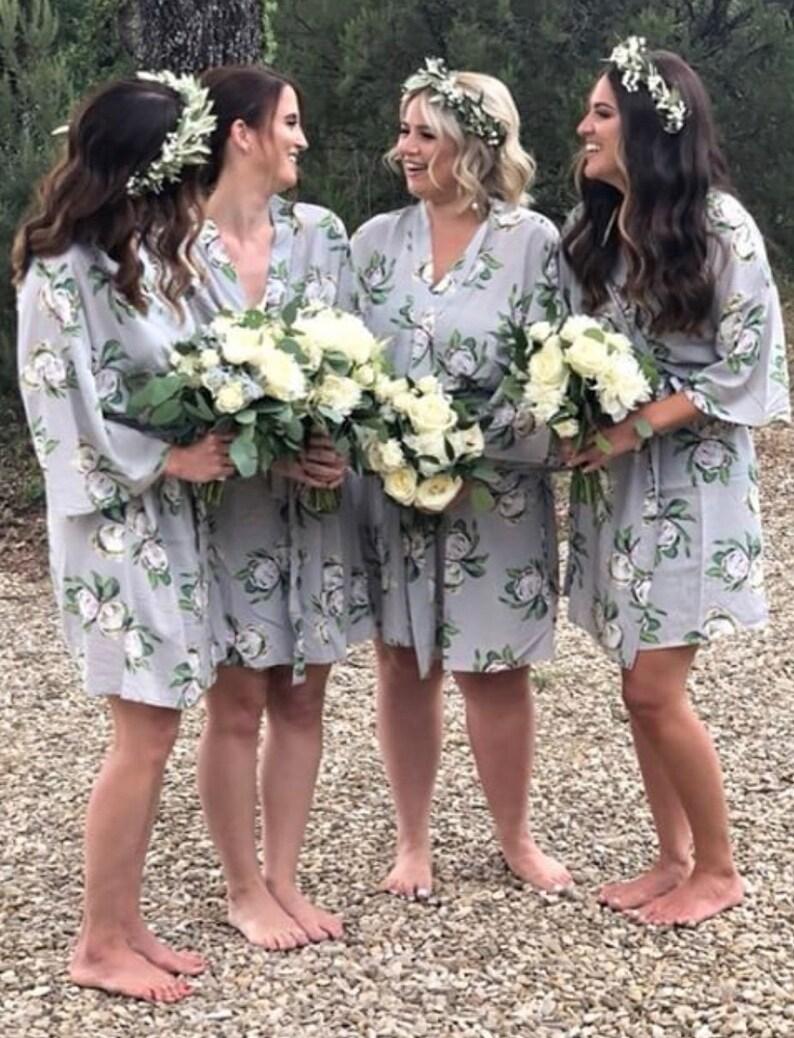 8b950417ed99 Bridesmaid Robes Protea   Bridal Party Robes   Wedding Robes