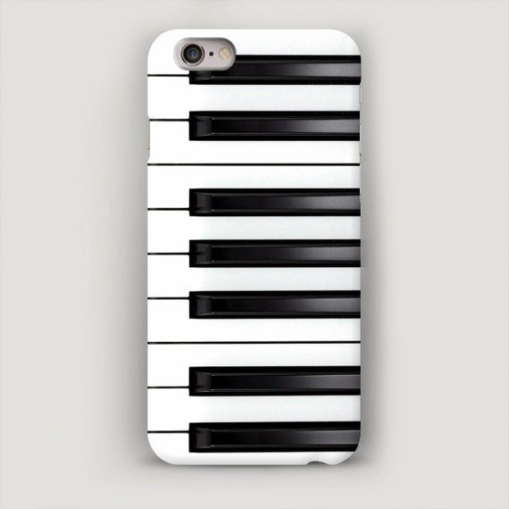 size 40 f798d c5324 Piano iPhone 7 Case, Music iPhone 6 Plus Case, iPhone 5s Case, Piano iPhone  Case, iPhone SE Case Black and White, Gift for Musician, 6S Case