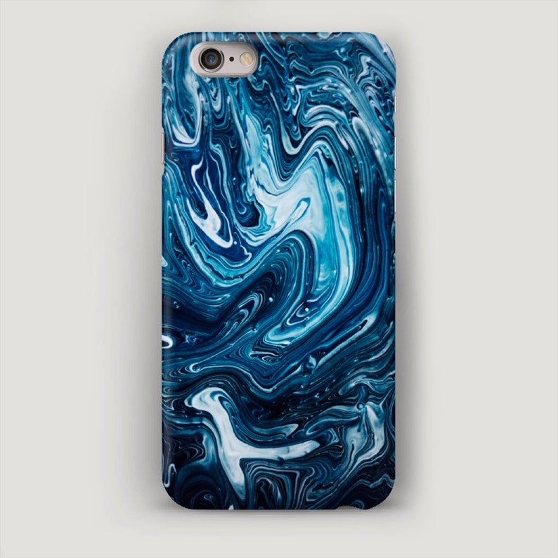 new concept ba414 03534 Stone iPhone 7 Case, Marble iPhone 6 Case, Marble Phone Case, Deep Blue  Phone Cover, Apple Case, iPhone 6s Marble case, iPhone Case 7 Plus