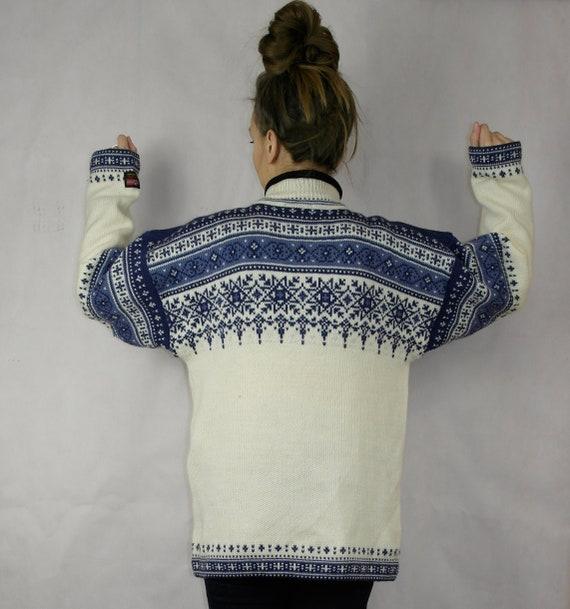 Norwegian wool sweater / Gjestal wool sweater / N… - image 5