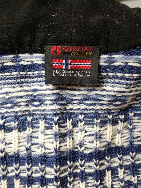 Norwegian wool sweater / Gjestal wool sweater / N… - image 6