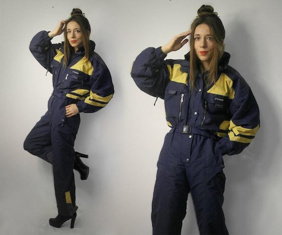 Vintage One Piece ski suit / Ski wear One Piece Sk