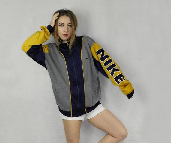 Cayo Premonición Necesito  Vintage Nike windbreaker track jacket / 90s oldschool nike zip | Etsy