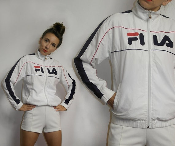 Vintage Fila windbreaker / Color block Fila windbr