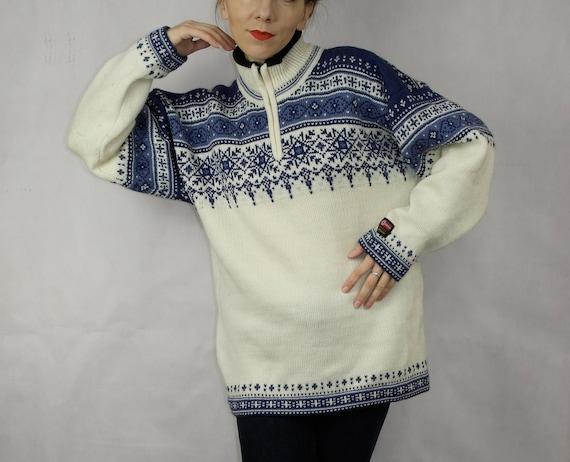 Norwegian wool sweater / Gjestal wool sweater / N… - image 2