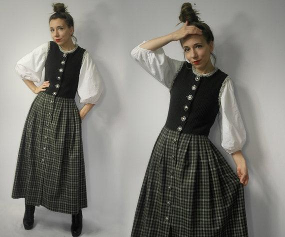 Trachten Dress / Dirndl Dress / Wool Dirndl  trach