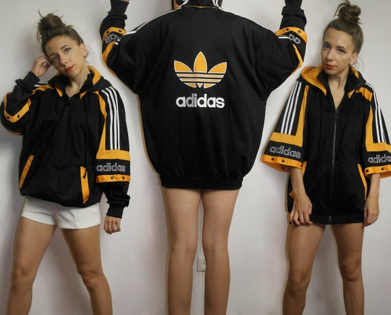 Vintage Adidas tracksuit top / Color block Adidas
