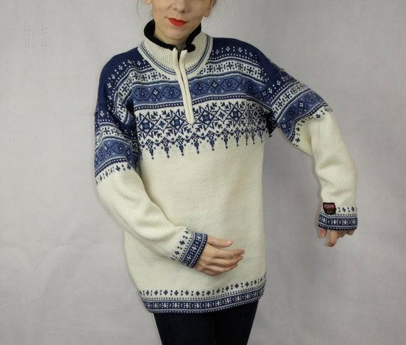 Norwegian wool sweater / Gjestal wool sweater / N… - image 3