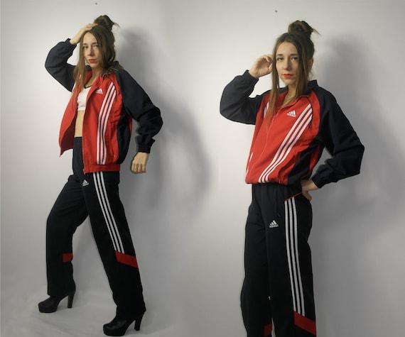 Vintage Adidas windbreaker jacket suit / Adidas ja