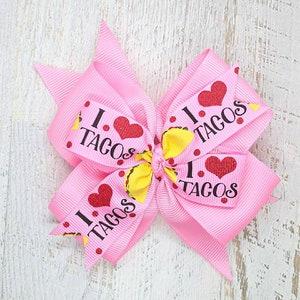 Barrette Headband Hot Pink Attach to Hair Clip Tepee Tribal Teepee Tent Teepee Hair Bow Tent Hair Bow for Girls Boho Teepee Kids