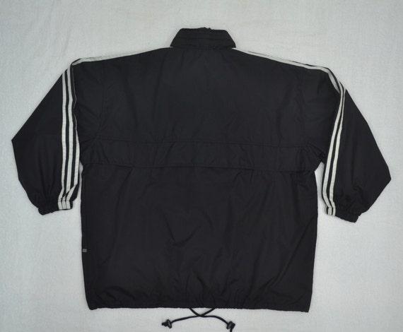 Authentic Adidas Originals Windbreaker Hoodie Jacket size LXL trefoil