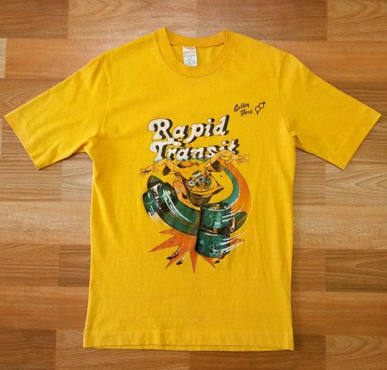 82c9521dd22c10 Vintage Rare 70 s 80 s Golden Breed skate surf T shirt