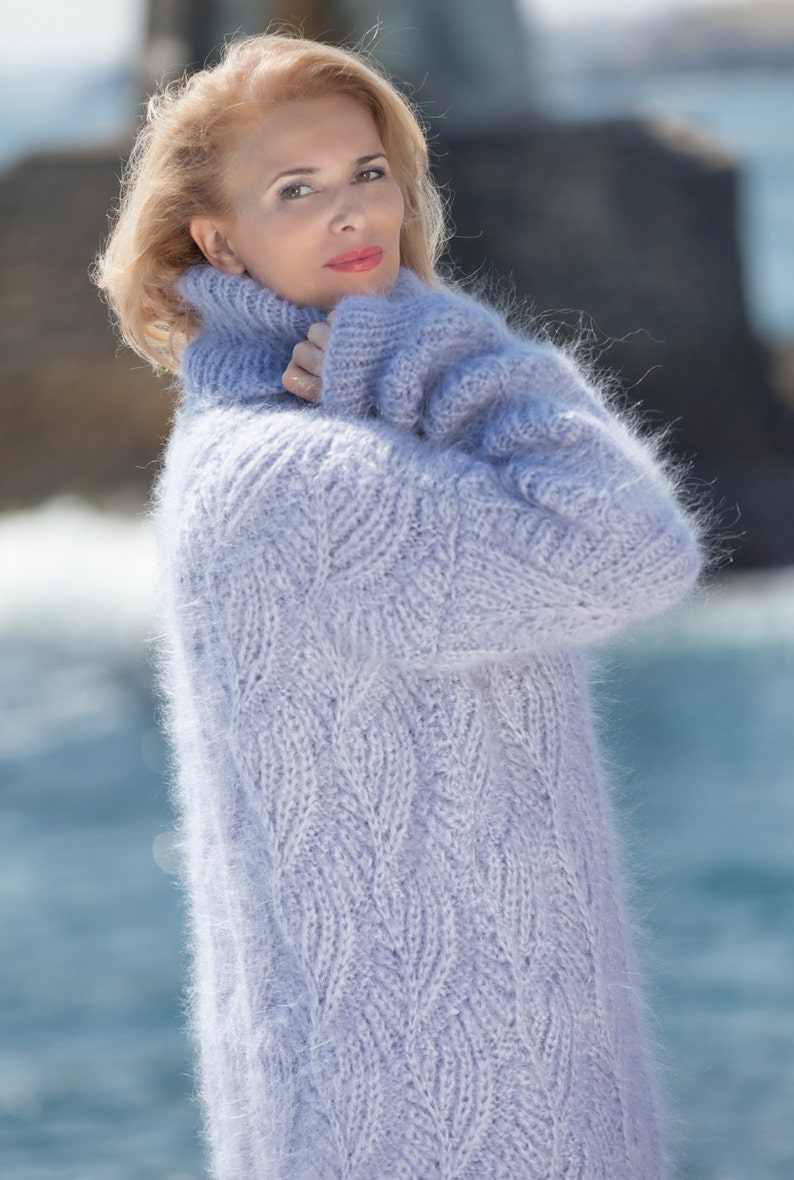 7df2a7de5 Oversized Sweater Mohair Sweater Wool Jumper Cable Knit