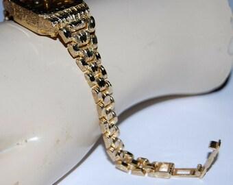 Elegant 10K Karat 417 Stamp Solid Yellow Gold Designer Link Anklet