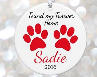 Custom Dog Ornament Gift For New Pet Gift Cat Christmas Dog Gift For Pet Lover Gift Pet Decor Gift For Dog Owner Gift Pet Christmas Ornament