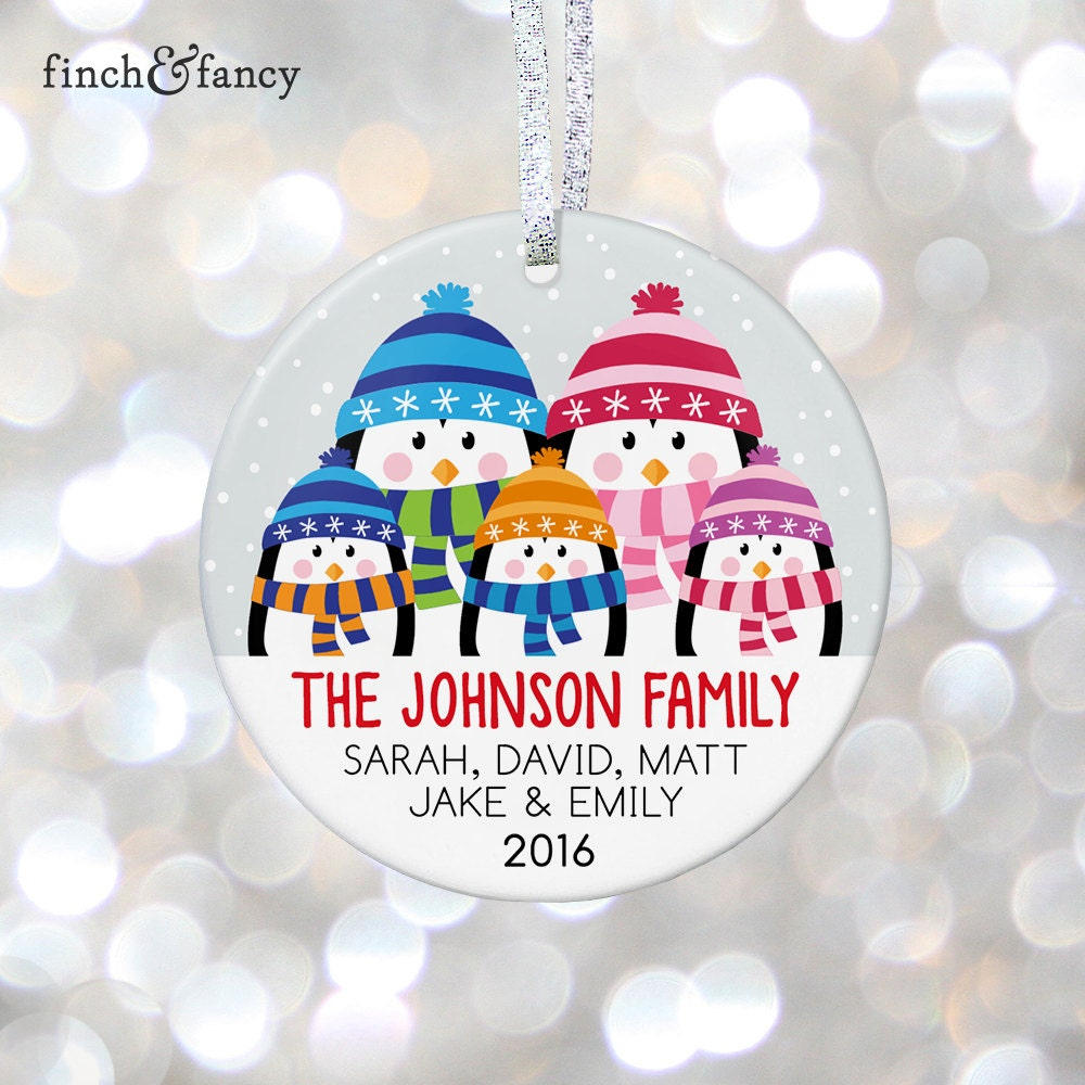 Personalized Family Christmas Ornament Parents Christmas Gift | Etsy