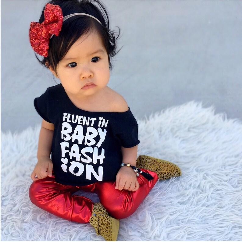 Kids Size Kids Size: 2-12 years Fluent in BabyKids Fashion\u00a9 LeotardCrop Top by Daily Threads