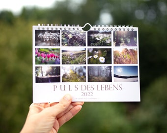 calender nature photography 2022