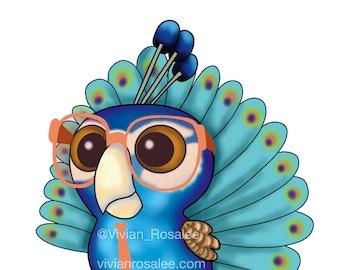 Custom Nerdy Birdy