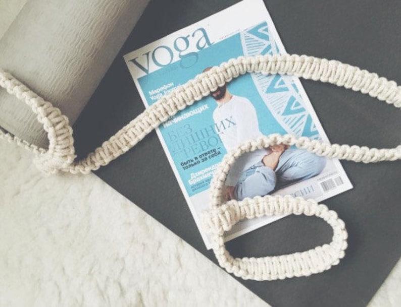 Yoga mat strap mindfulness gift yoga accessories yoga mat carrier kundalini yoga