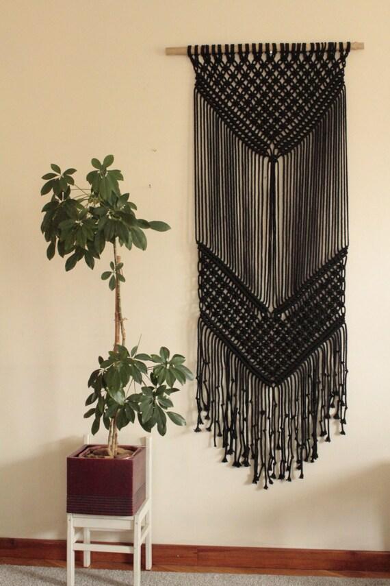 Macrame wall hanging