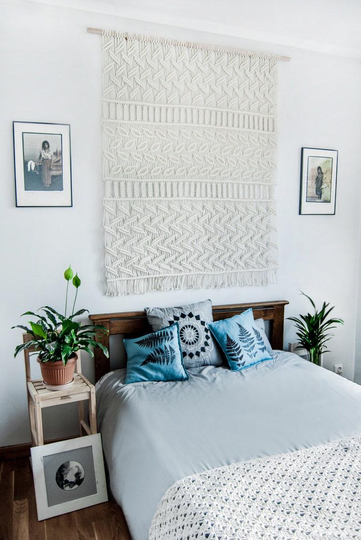 Large Macrame Wall Hanging Macrame Headboard Farmhouse Decor Bedroom Decor