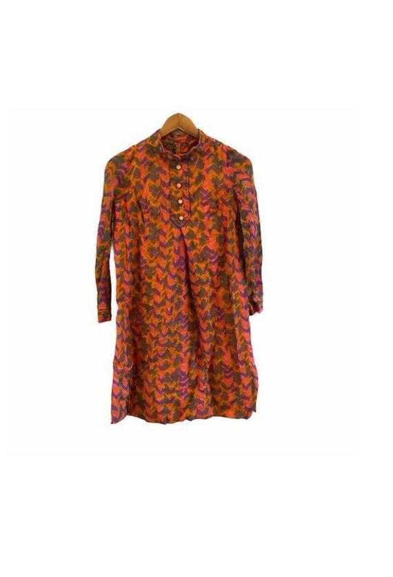 Ain R Jr. | groovy vintage 70's style dress small