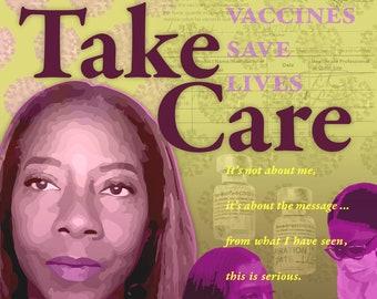 Sandra Lindsay, TAKE CARE, first COVID-19 vaccine recipient in United States