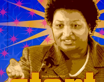 Stacey Abrams, START something SPARK something, perSISTERS series in the Female Power Project