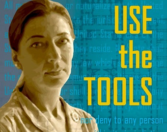 Ruth Bader Ginsburg, USE the TOOLS, perSISTERS series in the Female Power Project