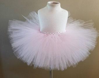 5101a17e9 Light pink tutu easter tutu ballerina tutu flower girl tutu birthday tutu  toddler tutu infant tutu little girls tutu baby tutu