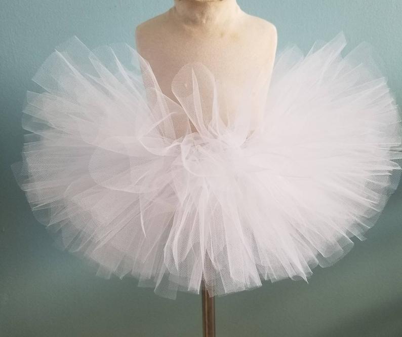 White tutu ghost tutu ice princess tutu ballerina fairy tutu image 1