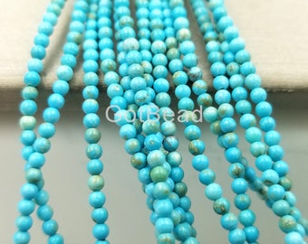 Spacer Turkey Charm 15.5/'/' Strand Beads Loose Gemstone Turquoise Beads