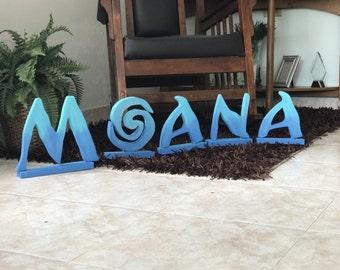 Moana Custom Name Party